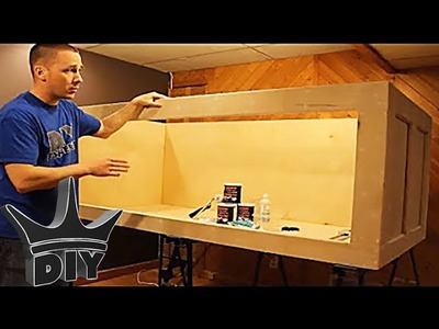HOW TO: Build a plywood aquarium | Part 1 | Building the tank TUTORIAL