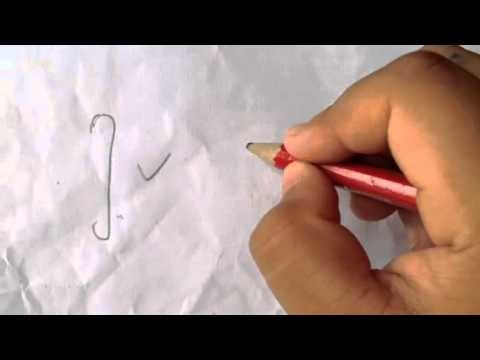 How to draw a CURLY bracket.  Tutorial