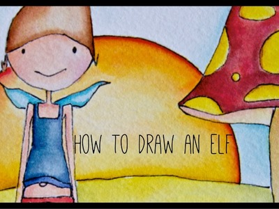 How to draw an elf : Dayth - drawing tutorial