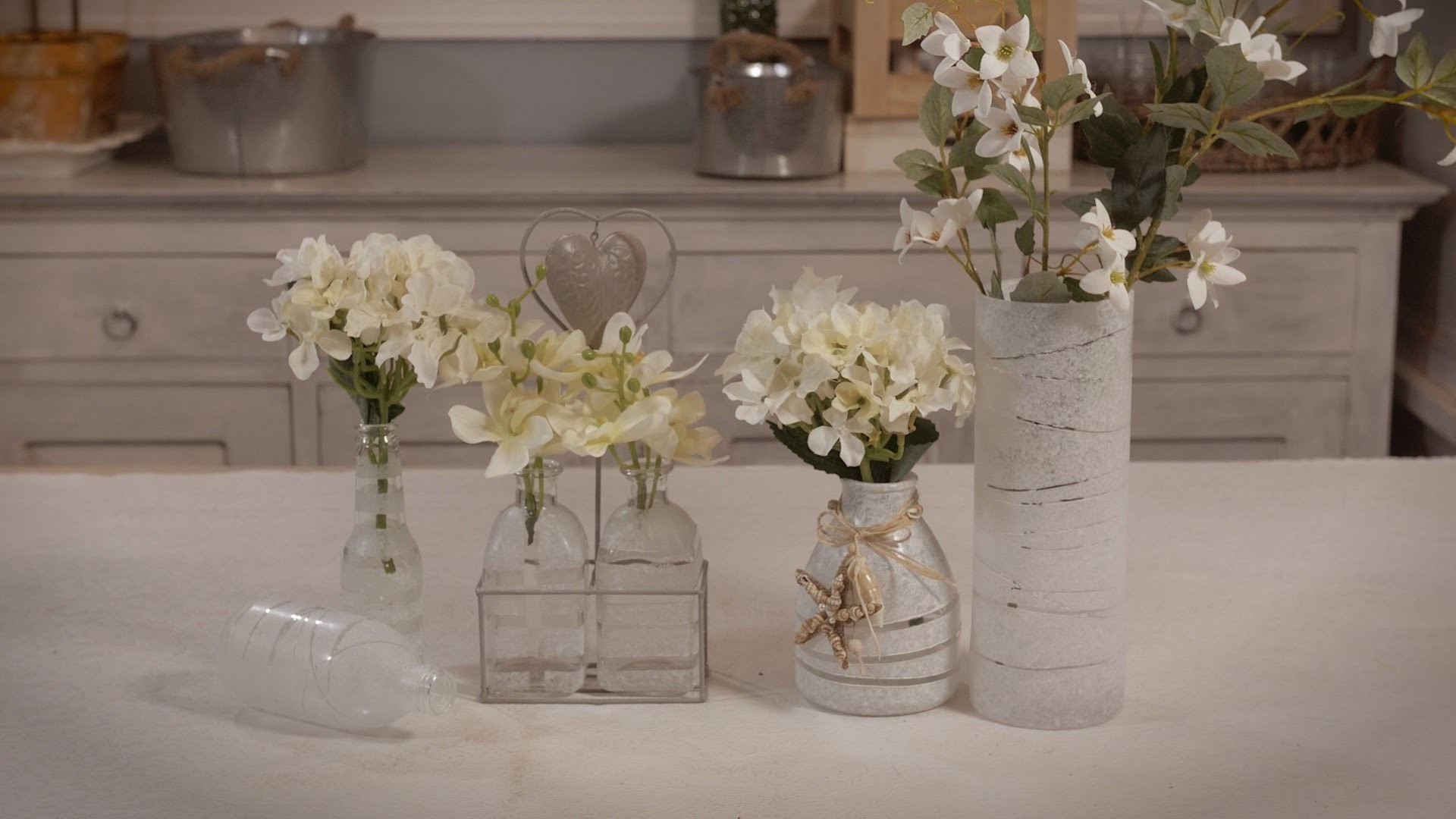 How to Frost Glass Bottles and Jars