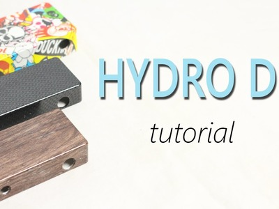 How to Hydro Dip Tutorial
