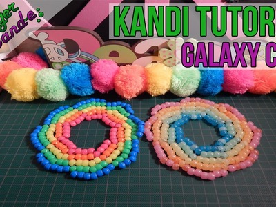 How to Make a Galaxy Cuff - [Kandi Tutorial]