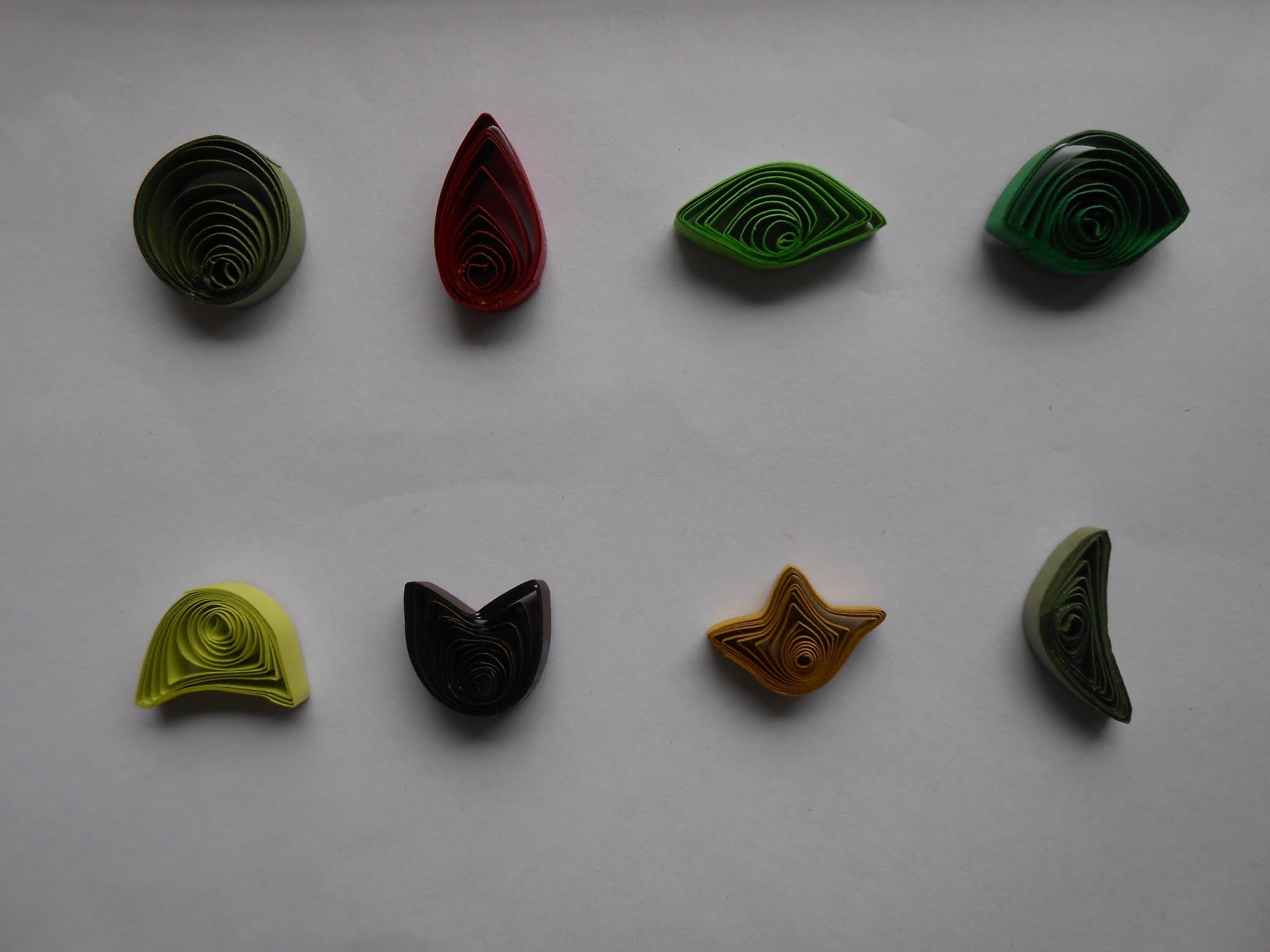 How to Make Basic Quilling Eccentric Coils - Tutorial Part 3 for Beginners