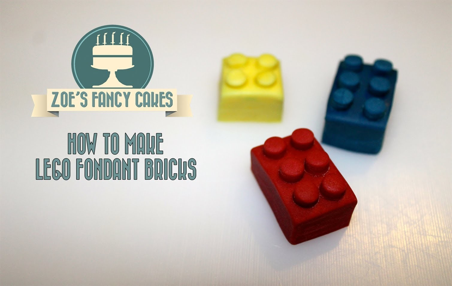 How to make icing lego blocks for cake decorating How To Tutorial Zoes Fancy Cakes