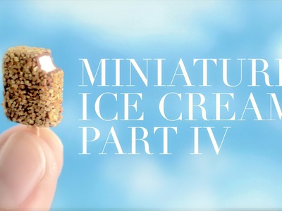 ICE CREAM IV: polymer clay tutorial