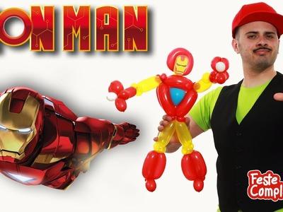 Iron Man Balloon - Scultura con Palloncini - Tutorial 93 - Feste Compleanni
