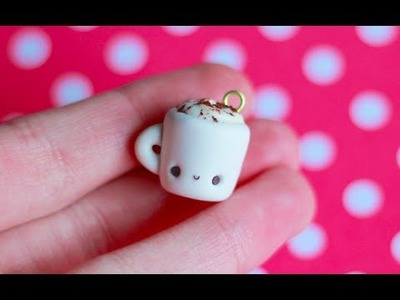 Kawaii Pumpkin Spice Latte in a Mug Charm Tutorial ✿ PastelDaisy