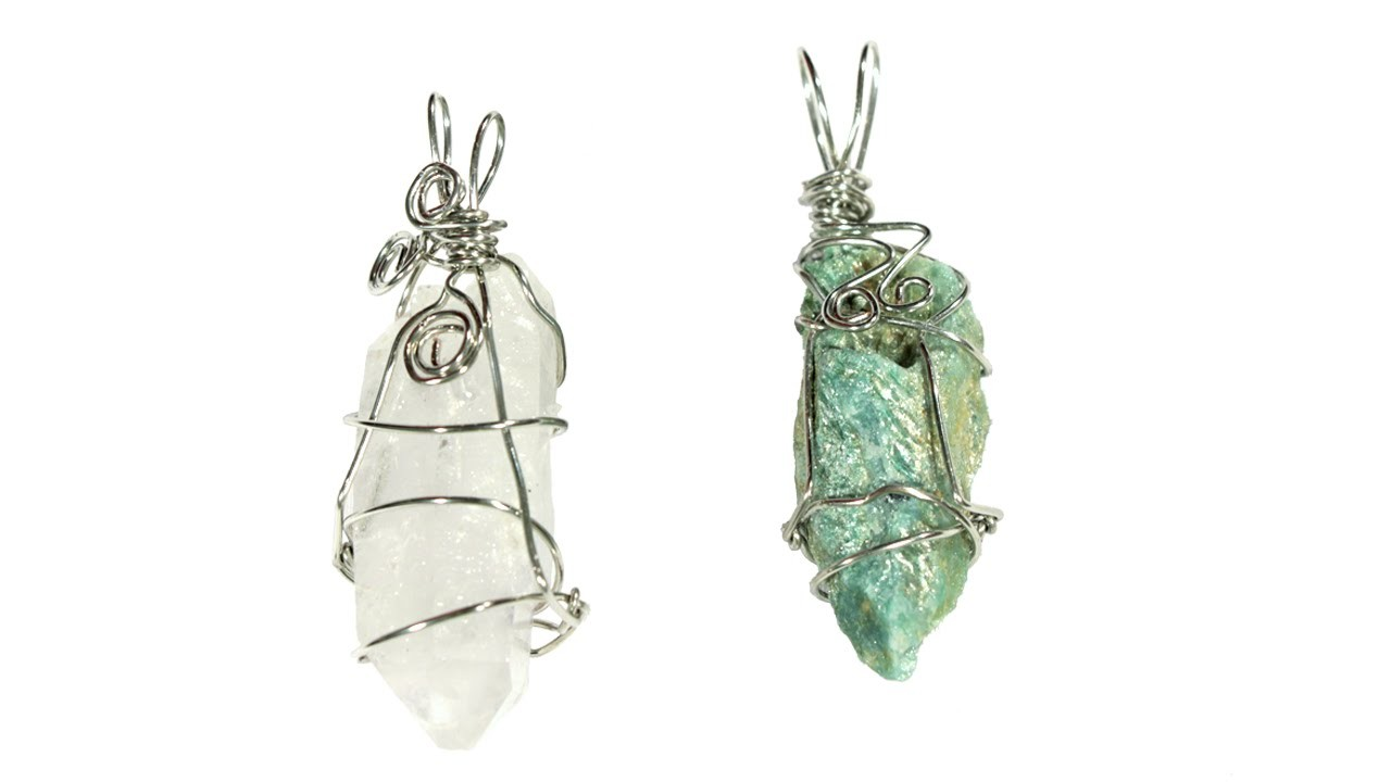 Magic Wrap Wire Wrapping Tutorial for Crystals