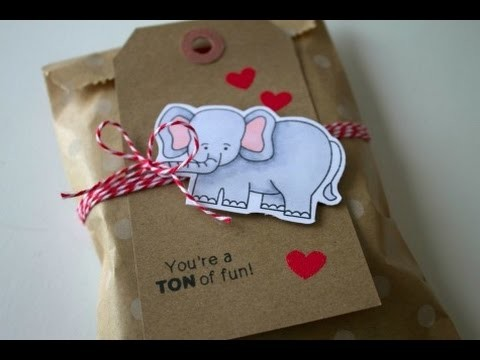 Newton's Nook Valentine Treat Bag tutorial