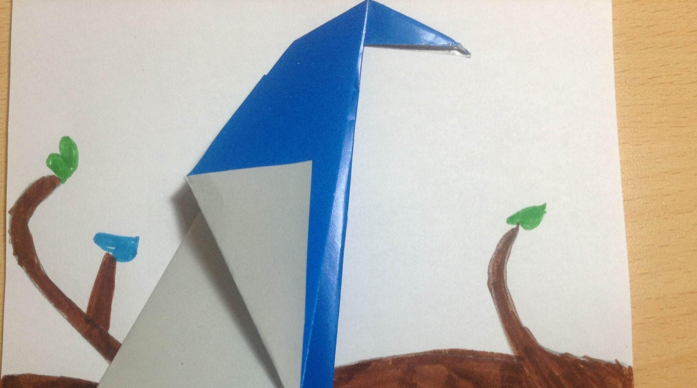 Origami Bird Tutorial Vİdeo !