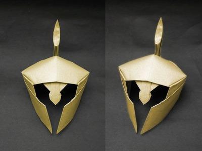 Origami helmet (Alexander Kurth) Tutorial