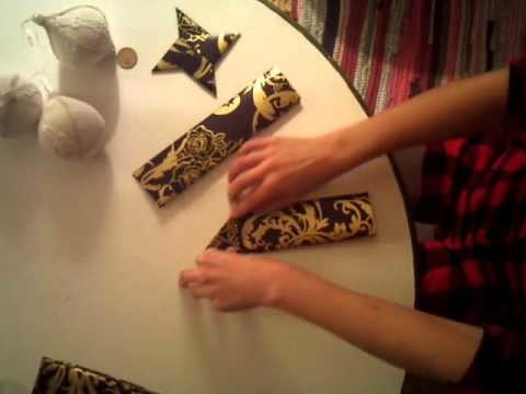 Origami Tutorial: Christmas Decorations