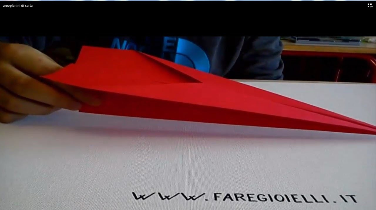 Origami Tutorial Paper Airplane