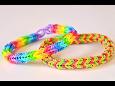 Rubber band wristbands - rubber band bracelets making tutorial