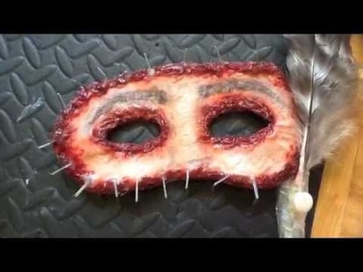 Scary 2014 Halloween Masquerade Flesh Skin Tutorial (sorry its a late upload)