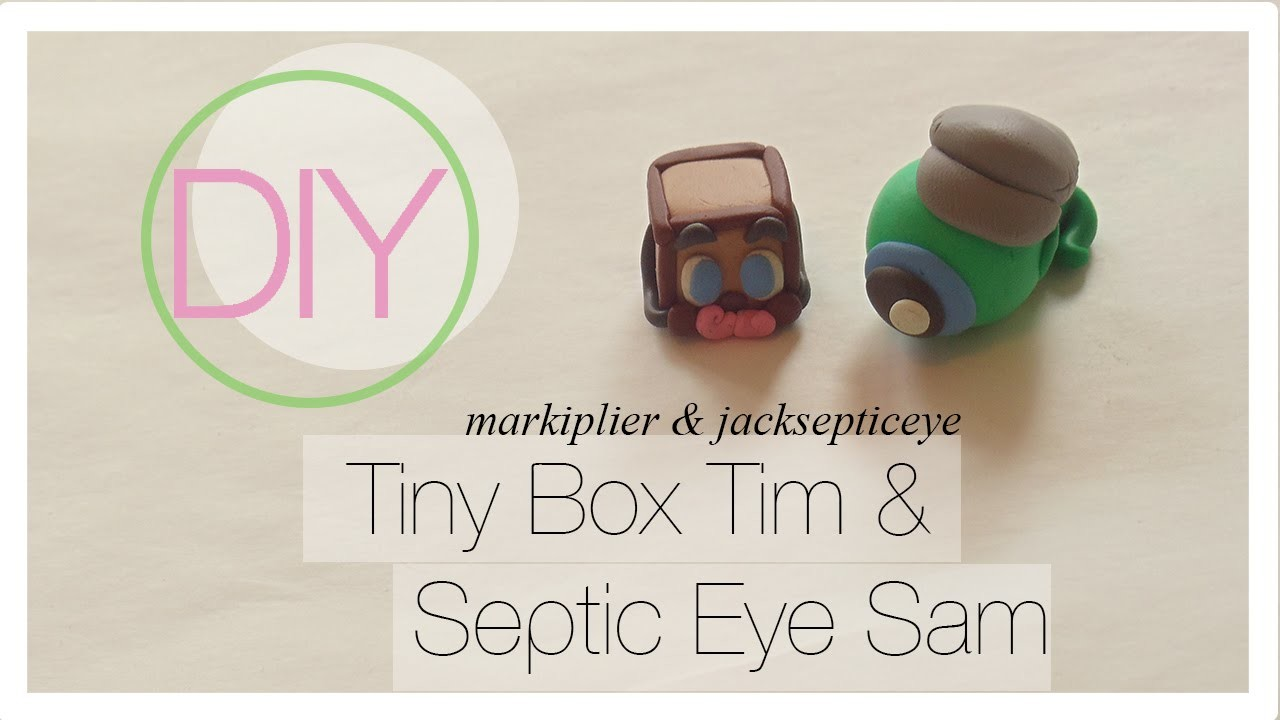 Septic Eye Sam & Tiny Box Tim Tutorial [Polymer Clay]