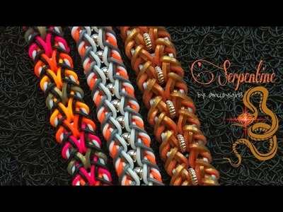 SERPENTINE Hook Only bracelet tutorial