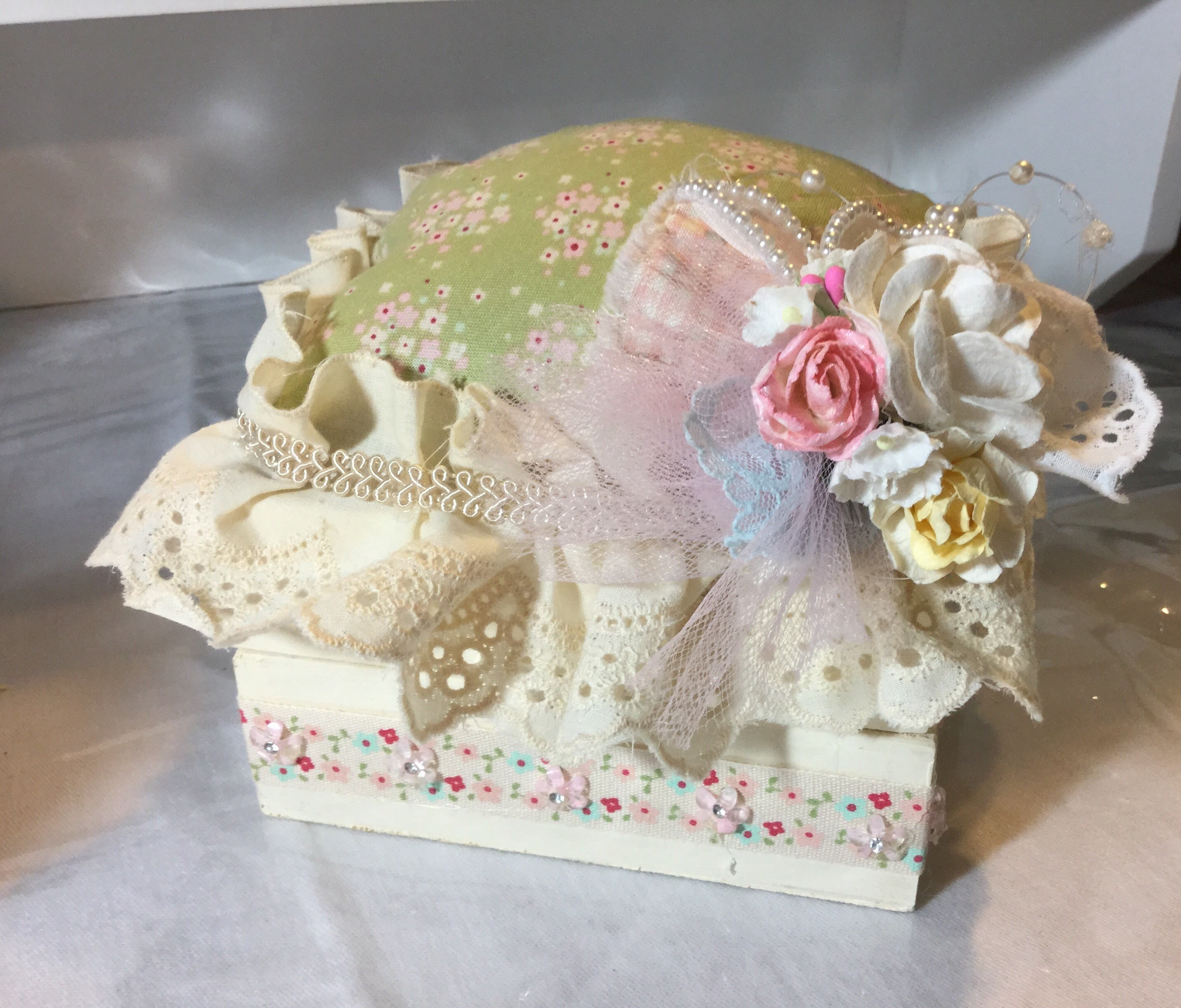 Shabby Chic Mending Box Tutorial