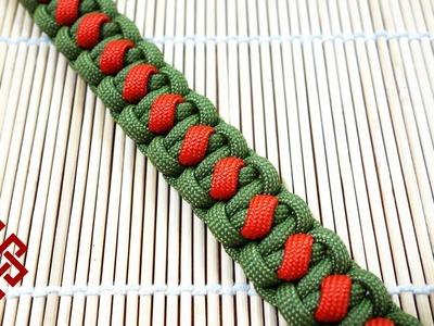 Solomon's Slanted Path Paracord Bracelet Tutorial