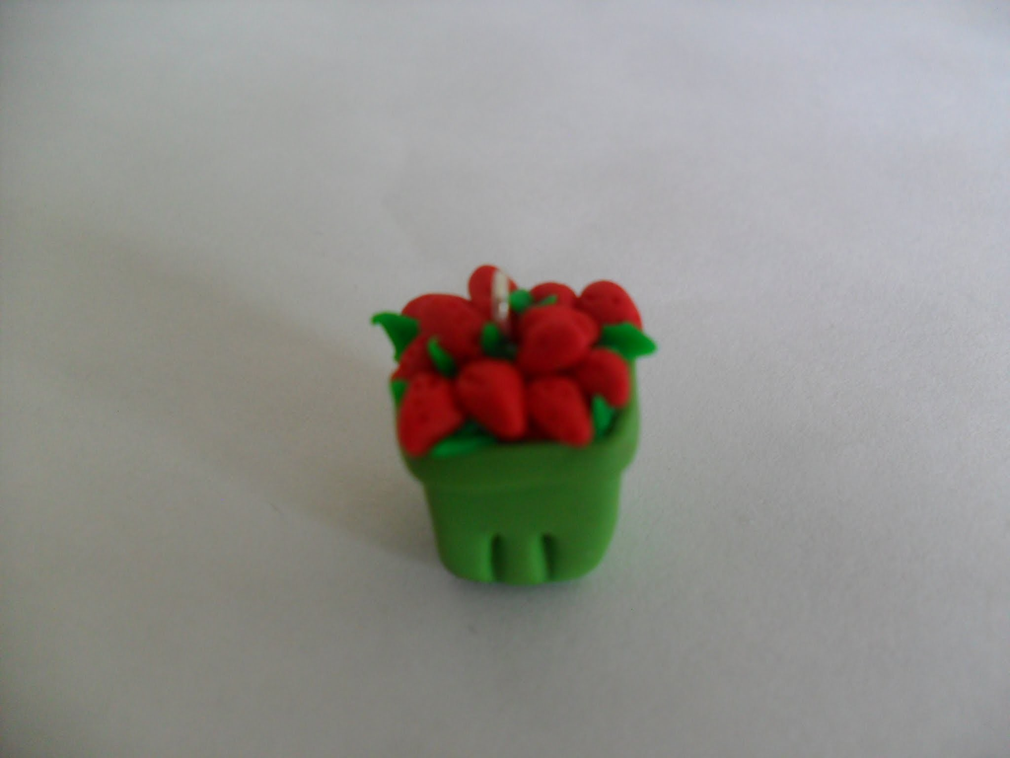 Tutorial # 1 How to make a Strawberry Pint Charm (So Sweet Charms)