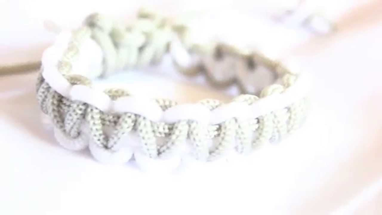 Tutorial : Gelang Makrame. Stackable Square Knot Bracelet