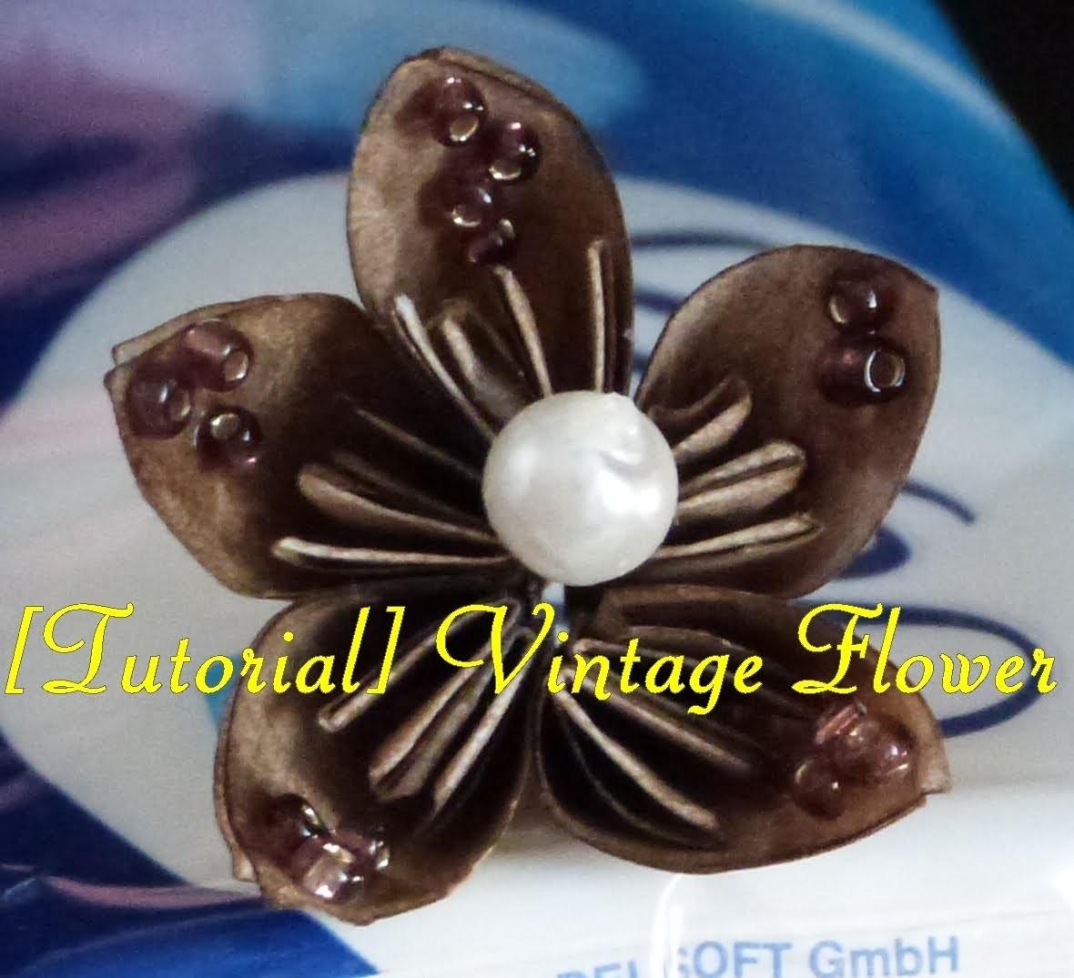 [Tutorial] Vintage-Flower