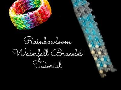 Waterfall Loom Bracelet Tutorial