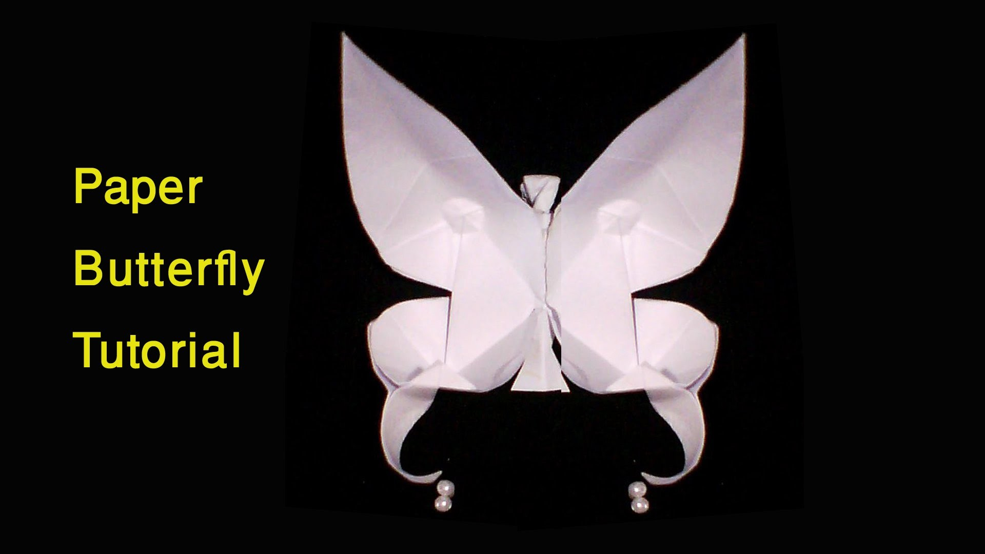 1 paper butterfly making tutorial