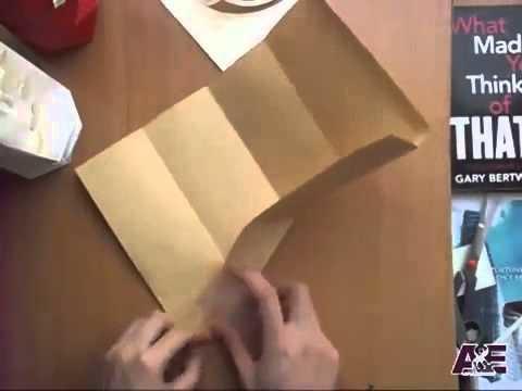 3D Origami Vase Tutorial #1   Origami Home Decoration