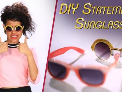 Basics By Blush: DIY Statement Sunglasses + Giveaway