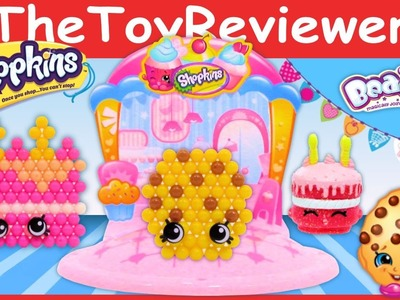 Beados Shopkins Tastee Bakery Unboxing Tutorial by TheToyReviewer