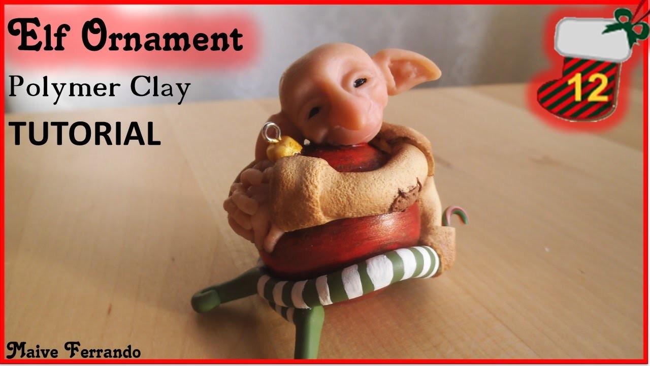 Christmas Advent Calendar: 12th Day - Elf Bauble Ornaments Tutorial