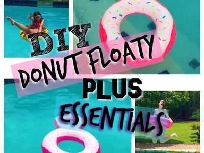 Diy- donut floaty +essentials