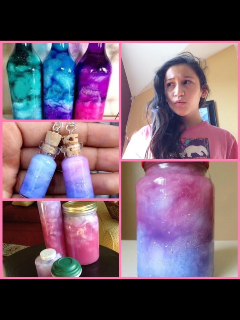 DIY galaxy jars