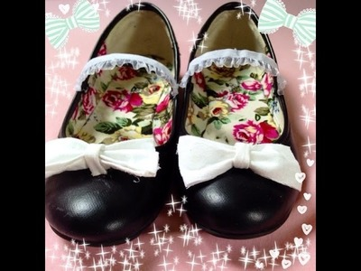 DIY: LOLITA MAID SHOES