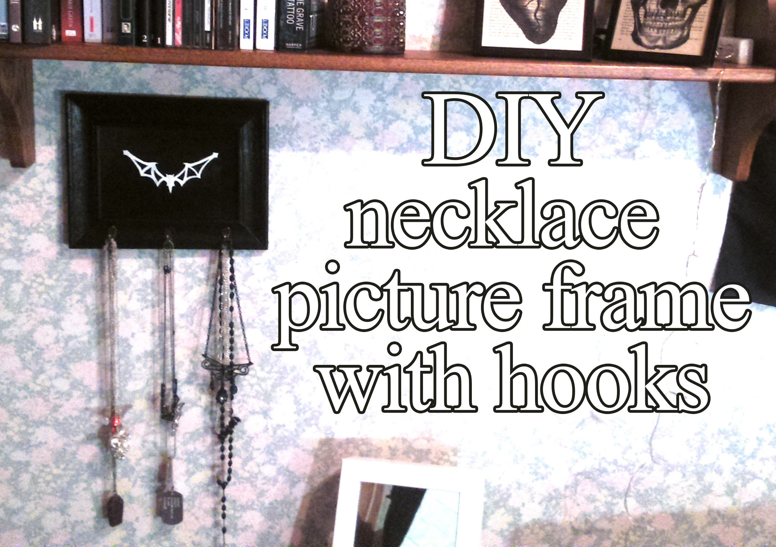 DIY - necklace frame
