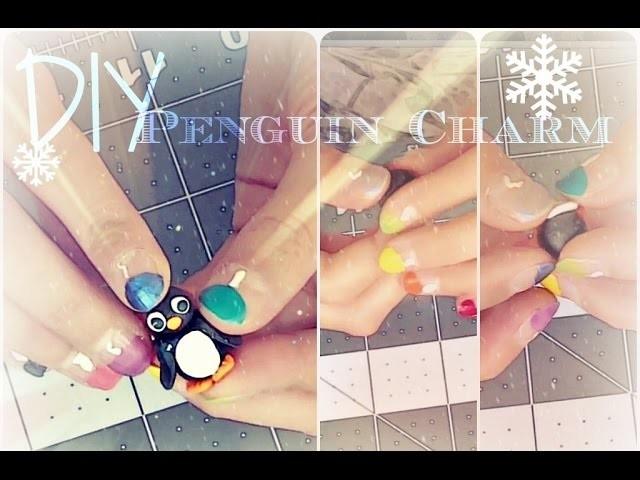 DIY Penguin Charm