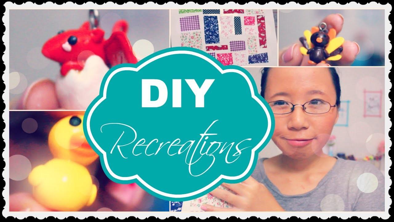 DIY Recreation Diary #1 - Makoccinos, PuddingFishCakes, aCupOfCakeTV