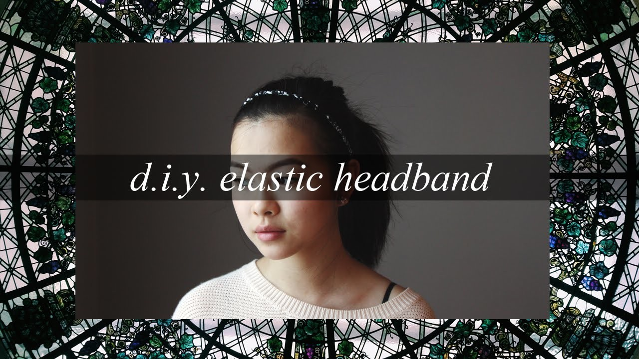 DIY Rope Braid Elastic Headband