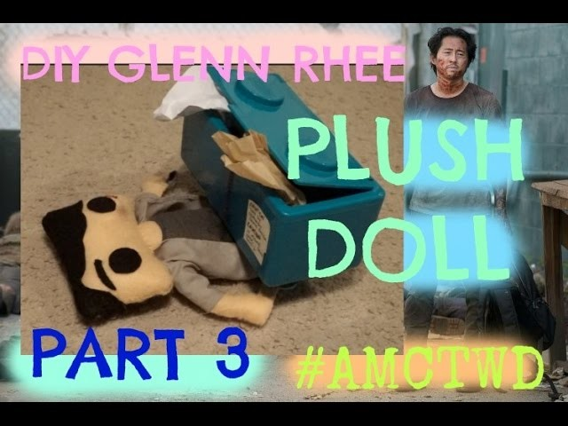 DIY The Walking Dead - Glenn Doll. Funko Pop! Inspired -