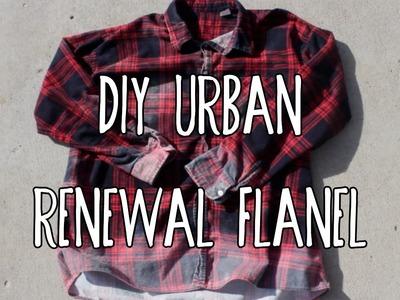 DIY Urban Renewal Flannel