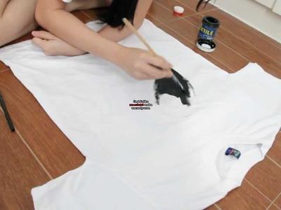 DIY Yin Yang Shirt
