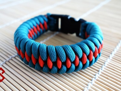 Dragon's Teeth Paracord Bracelet Tutorial