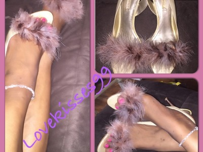 Fur Shoes DIY!