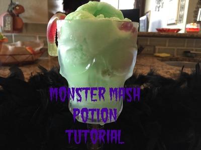 Halloween Monster Mash Potion Tutorial