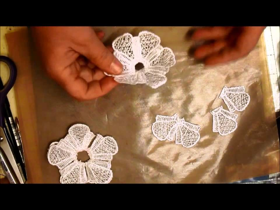 Handmade Doily From Lace Trim Tutorial - jennings644