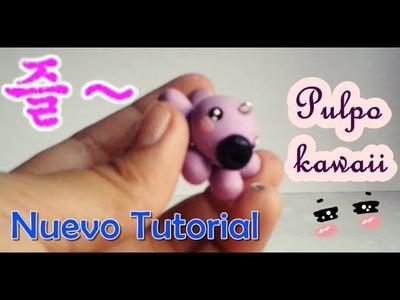 ♥ kawaii octopus tutorial. Pulpo kawaii ♥