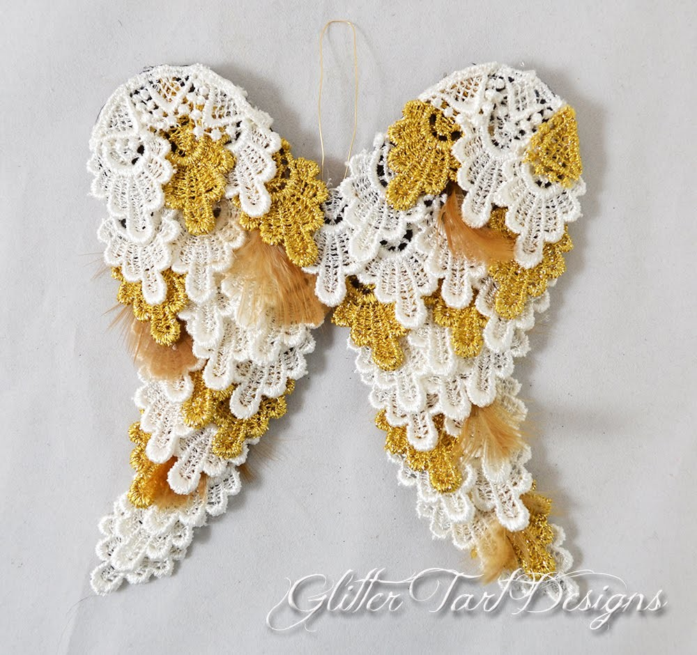 Lace Angel Wing Tutorial