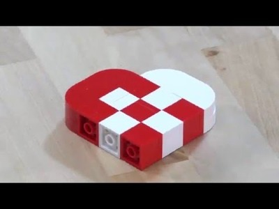 LEGO® Creator - How to Build a Simple Heart Ornament - DIY Holiday Building Tips