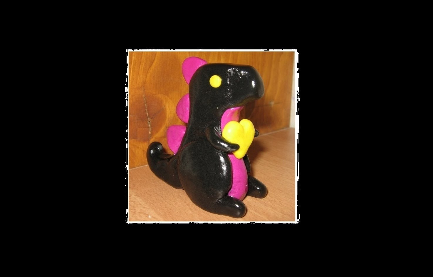 Little T-REX polymer clay tutorial